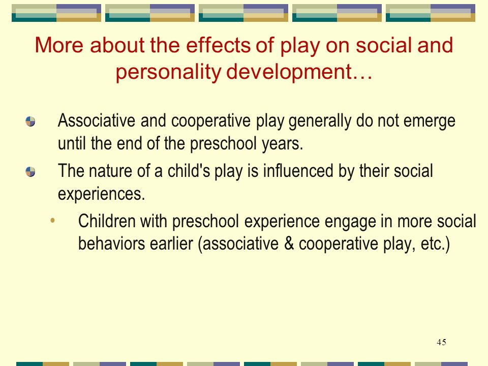 play and how it effects children An investigation of unstructured play in nature and its effect on children's self-efficacy abstract abstract an investigation of unstructured play in.