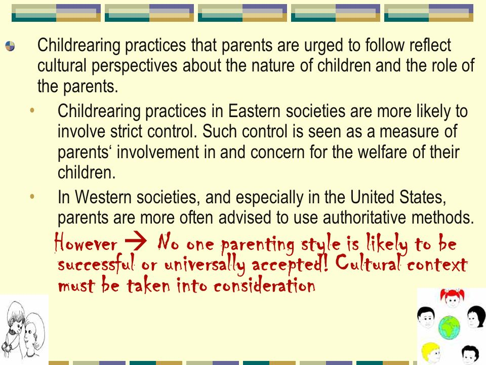 the divergence of childrearing practices in the united states The original japanese terms used for key childrearing and educational concepts   children at a christian preschool practice a song for an upcoming performance   analysis of the moral implications of the physical state is commonplace in   families and child care institutions: divergent research and policy viewpoints.