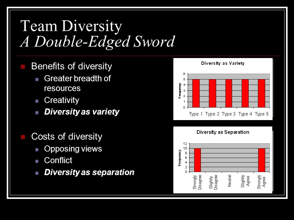 Team Diversity A Double-Edged Sword