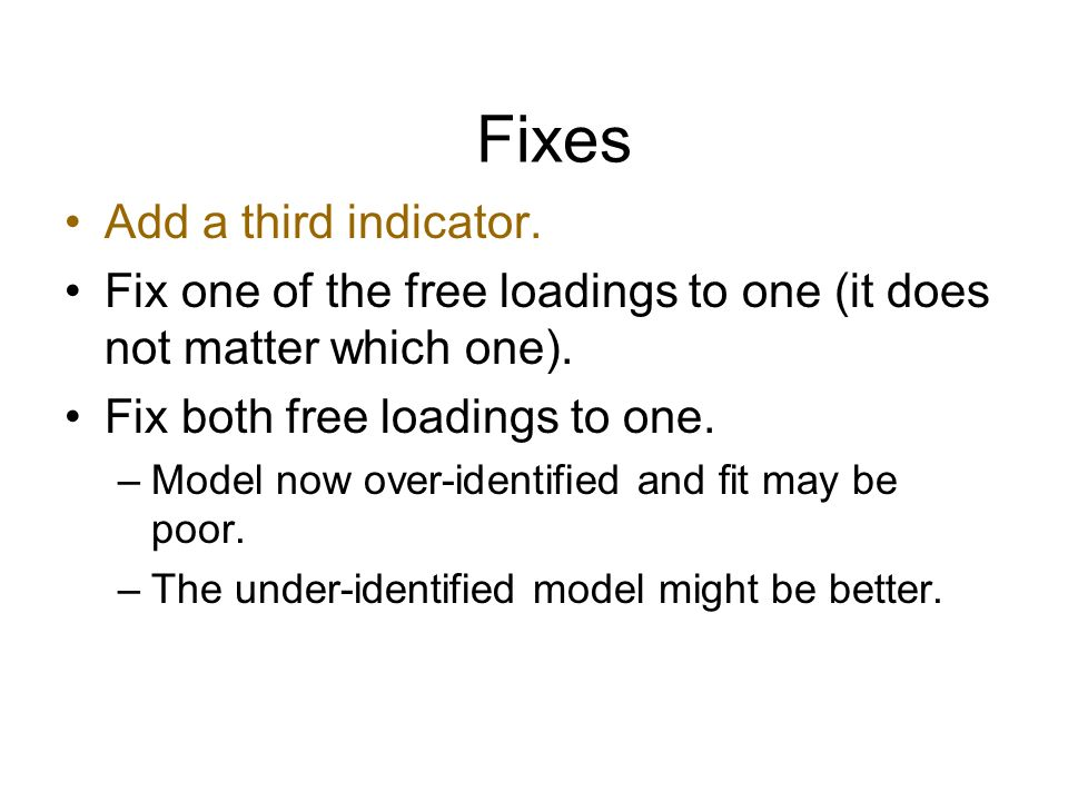 Fixes Add a third indicator.
