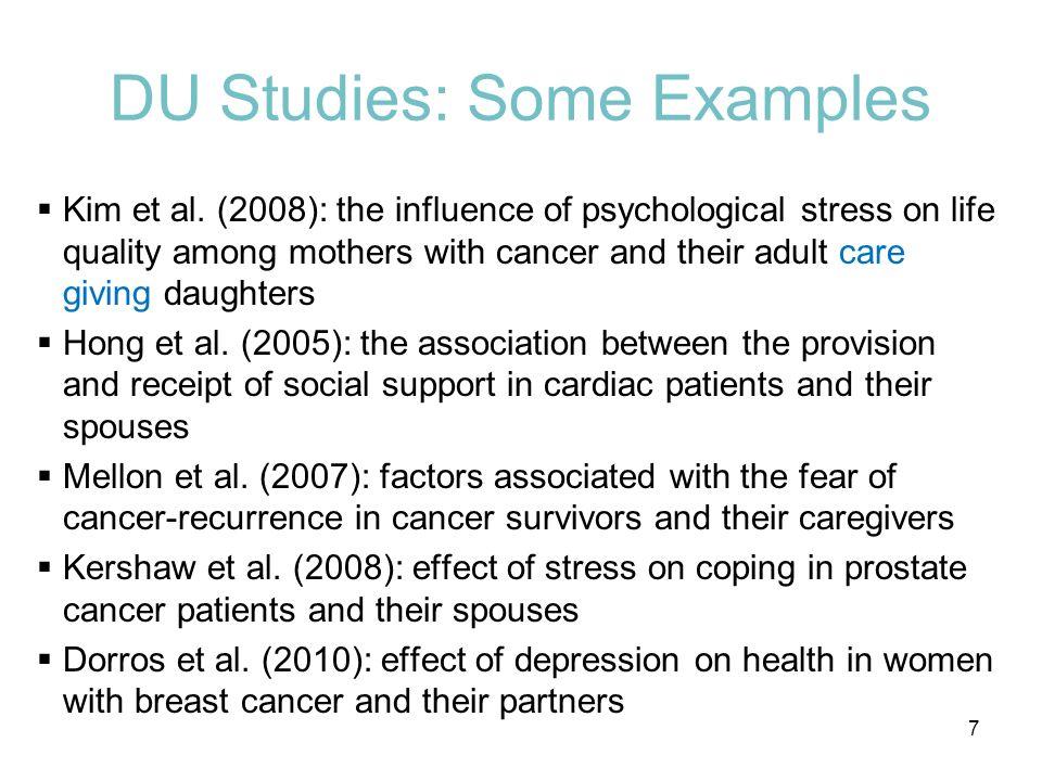 DU Studies: Some Examples