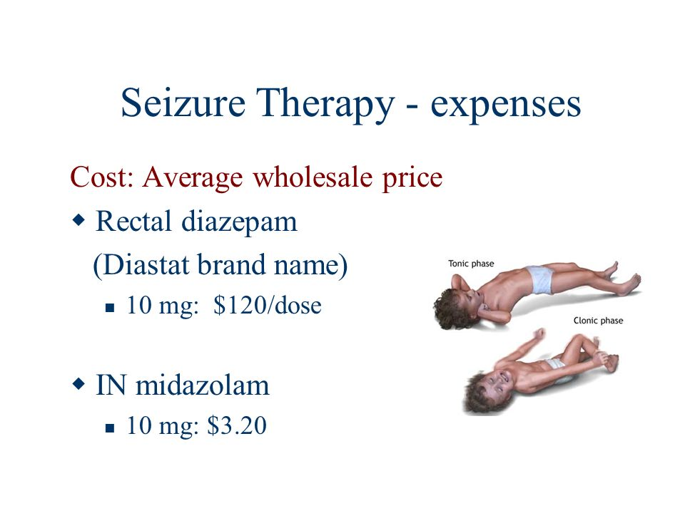 Seizure Therapy - expenses