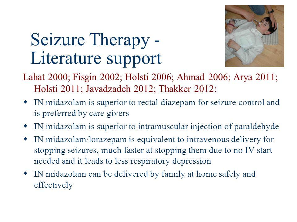 Seizure Therapy - Literature support