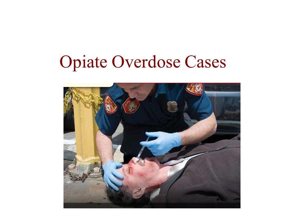 Opiate Overdose Cases