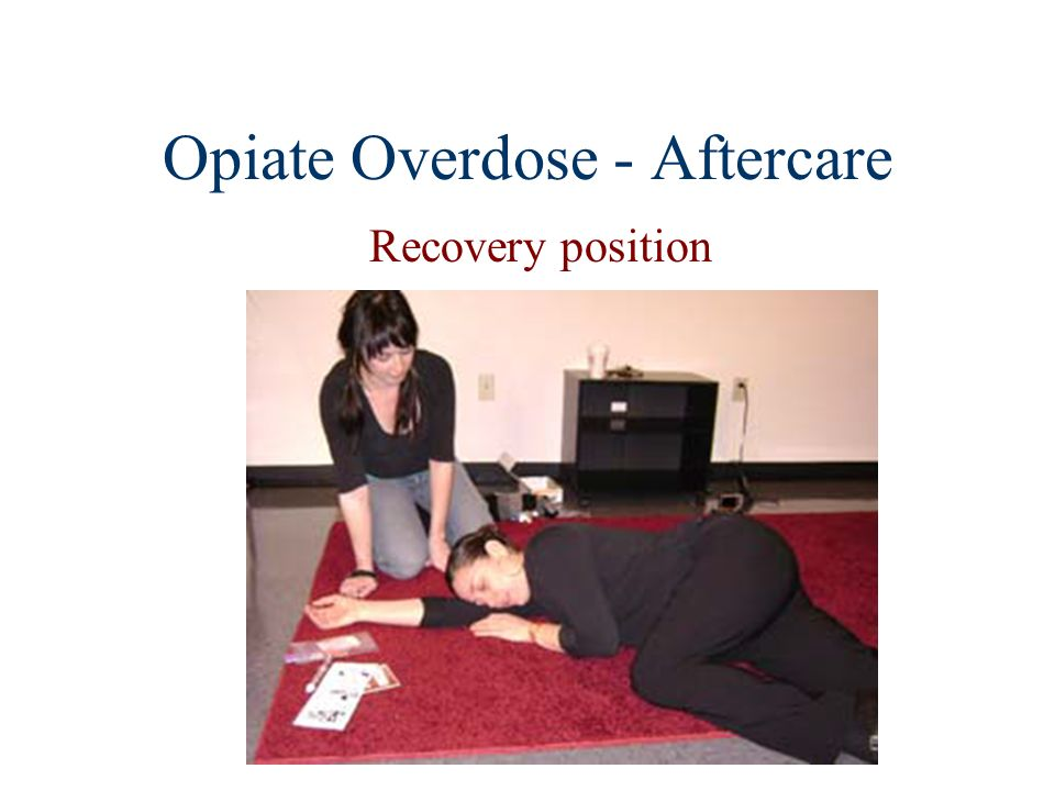Opiate Overdose - Aftercare