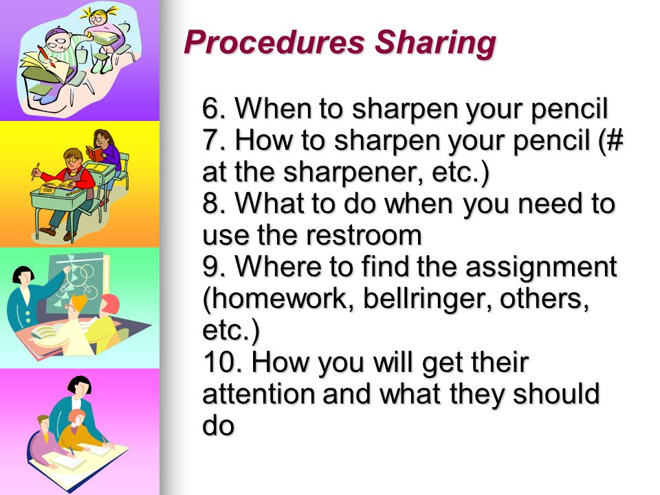 Procedures Sharing