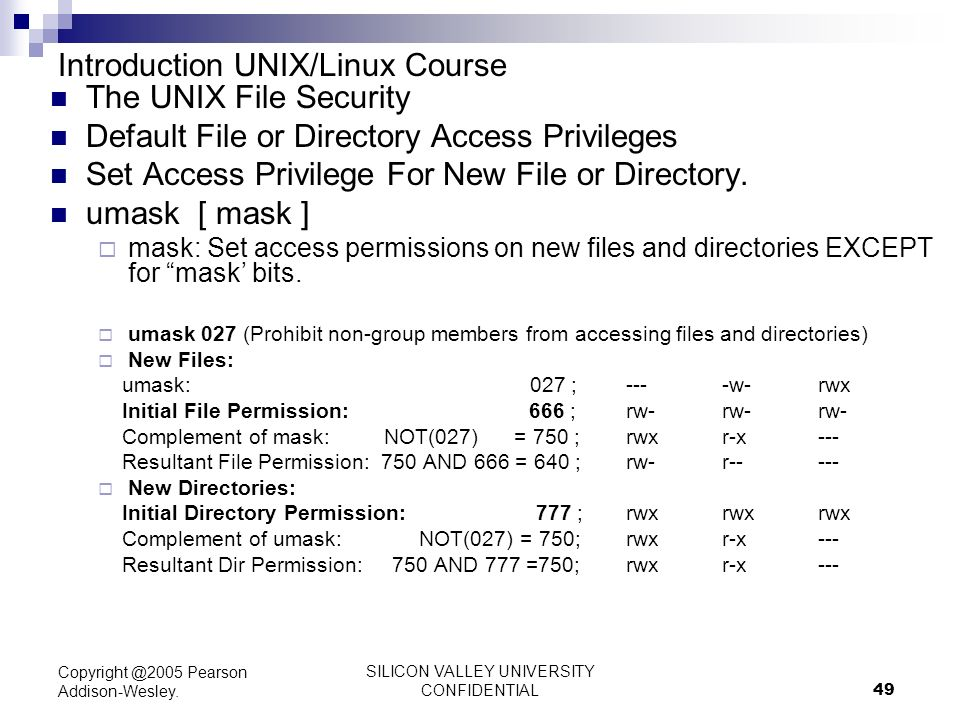 permission in linux