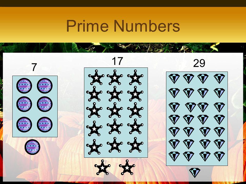 Prime Numbers 17 29 7