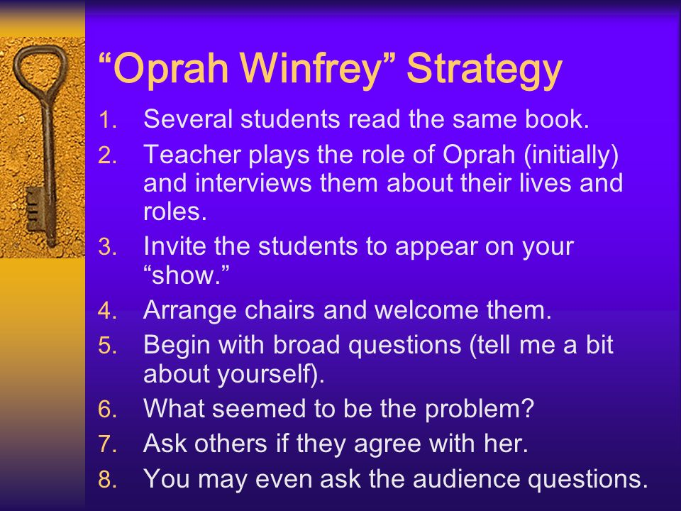 Oprah Winfrey Strategy