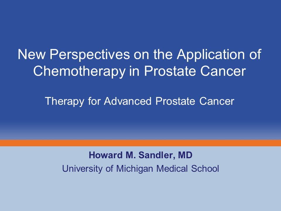 Howard M. Sandler, MD University of Michigan Medical School - ppt ...