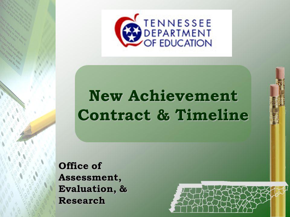New Achievement Contract & Timeline