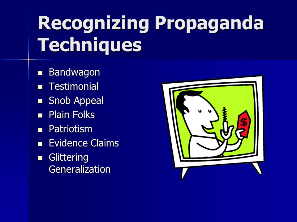 Recognizing Propaganda Techniques