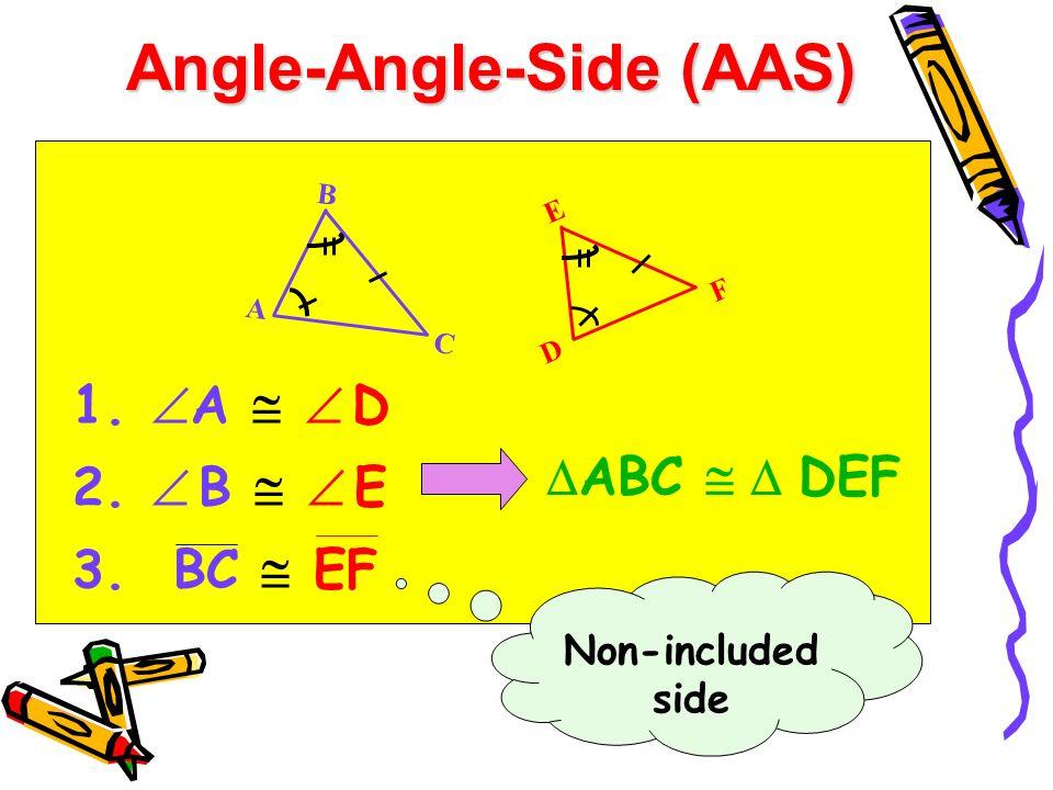 Angle-Angle-Side (AAS)