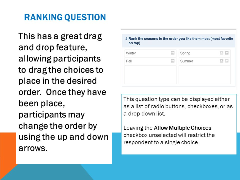 Ranking question