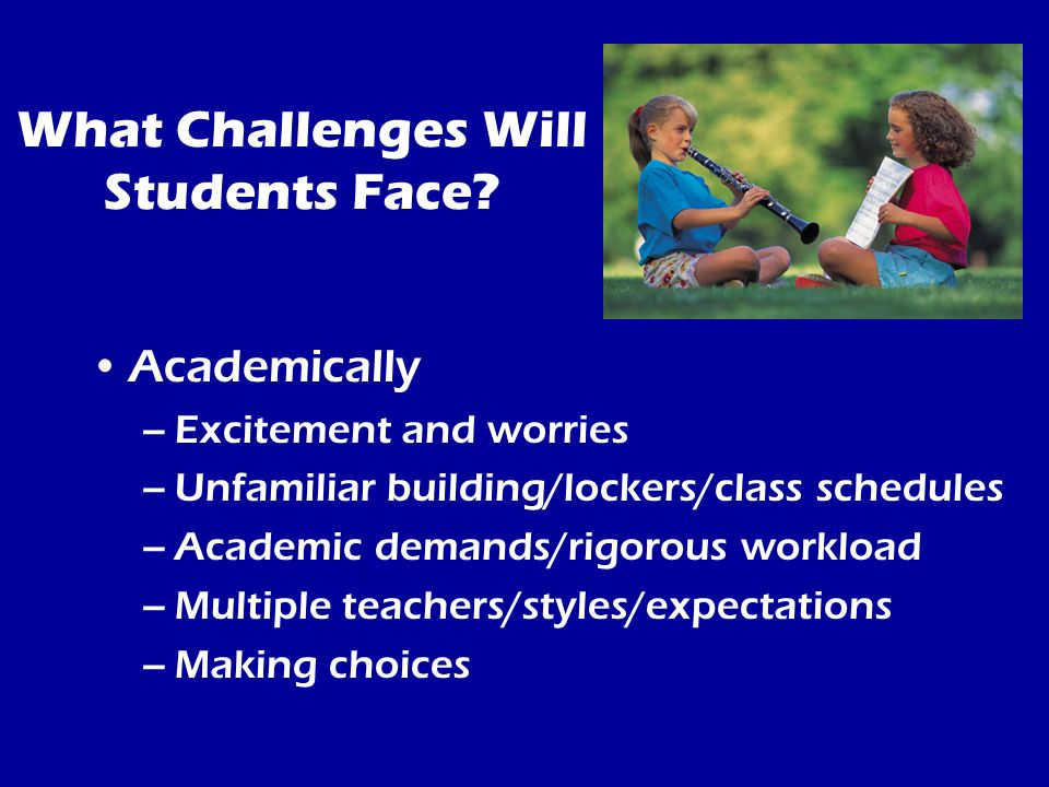 Challenges Students Face