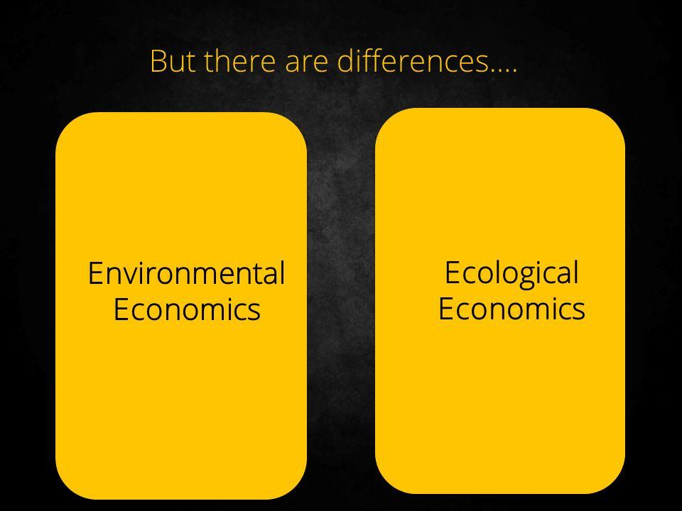 ecological economics View environmental economics, ecological economics, green economy research papers on academiaedu for free.