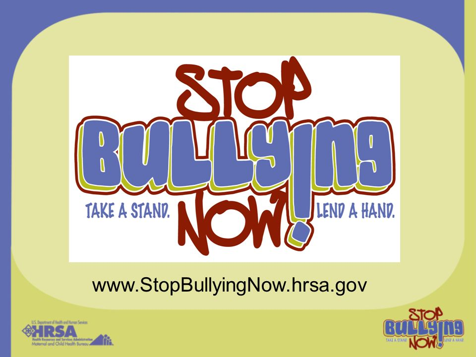 Public awareness efforts can assist schools and communities in raising awareness about bullying and in pointing children and adults to useful resources.
