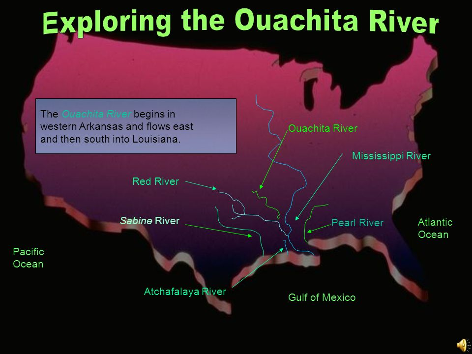 Exploring the Ouachita River