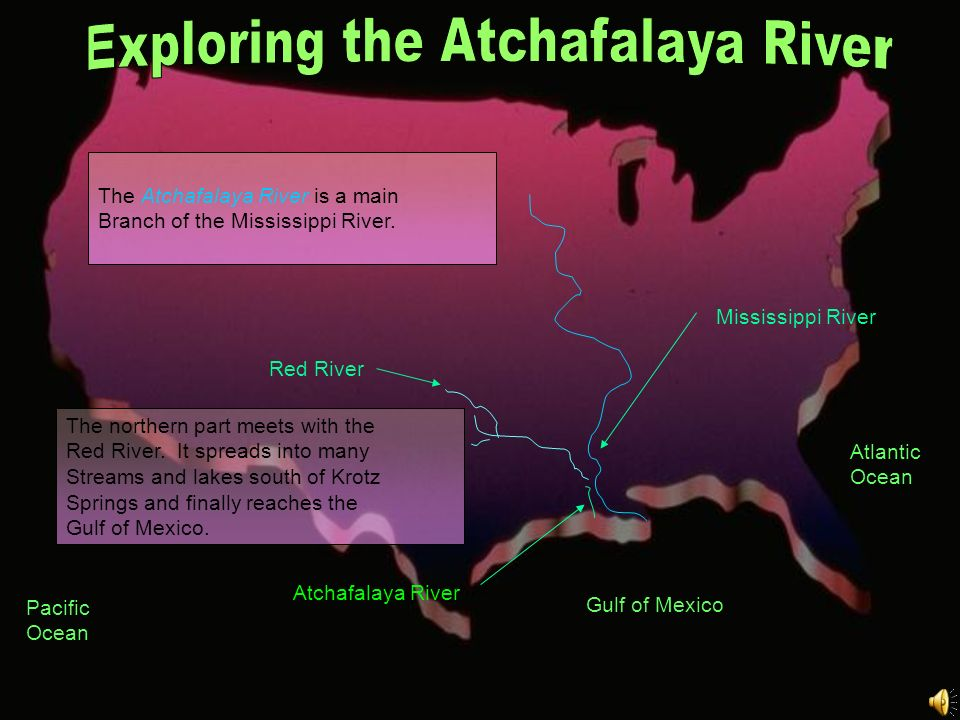 Exploring the Atchafalaya River