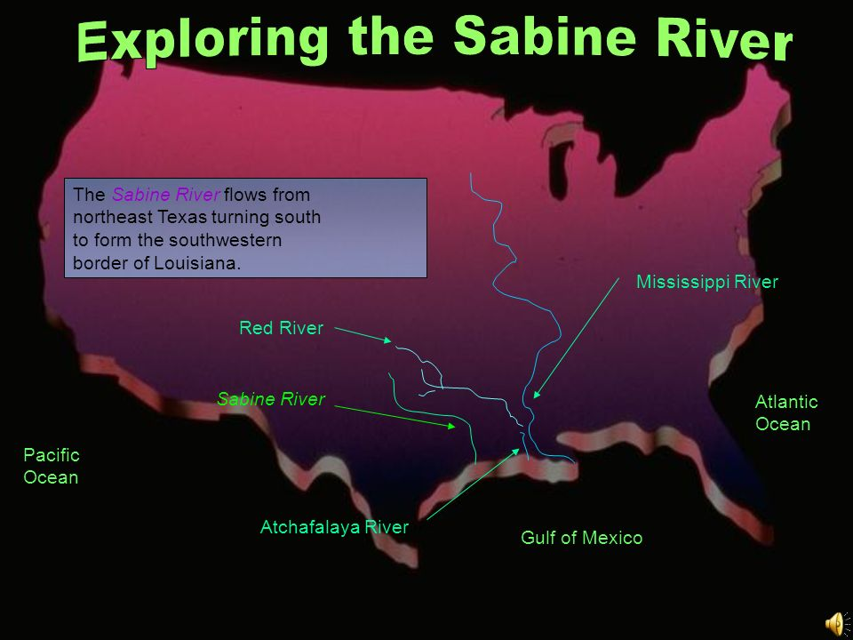 Exploring the Sabine River
