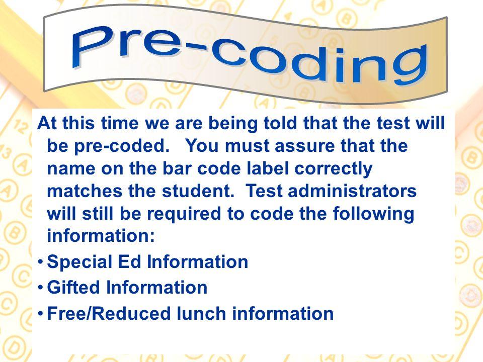 Pre-coding