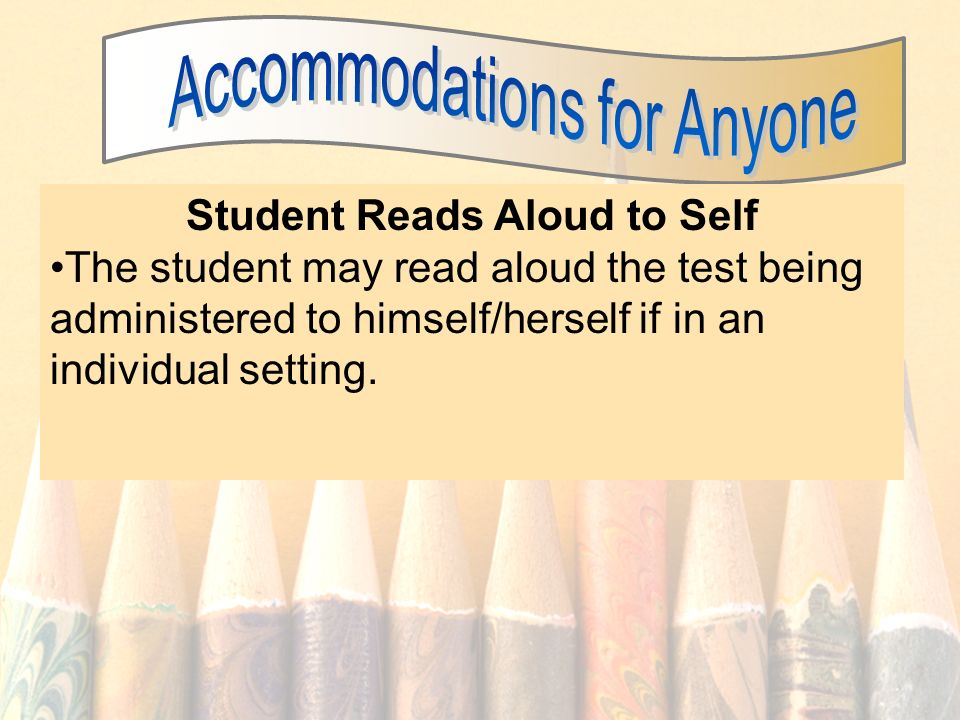 Student Reads Aloud to Self