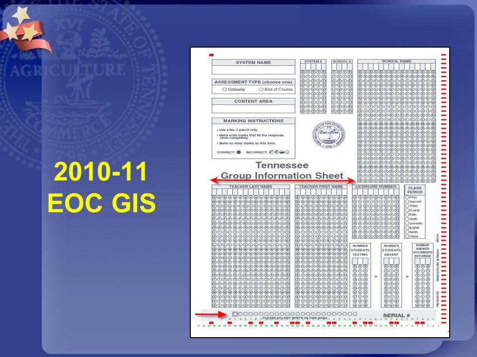 2010-11 EOC GIS