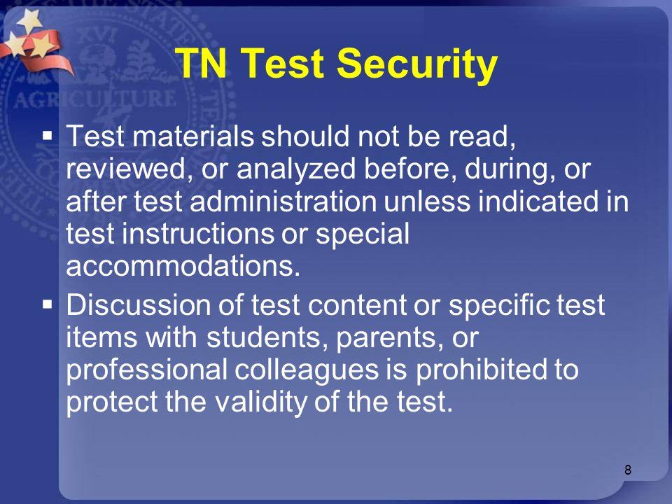 TN Test Security