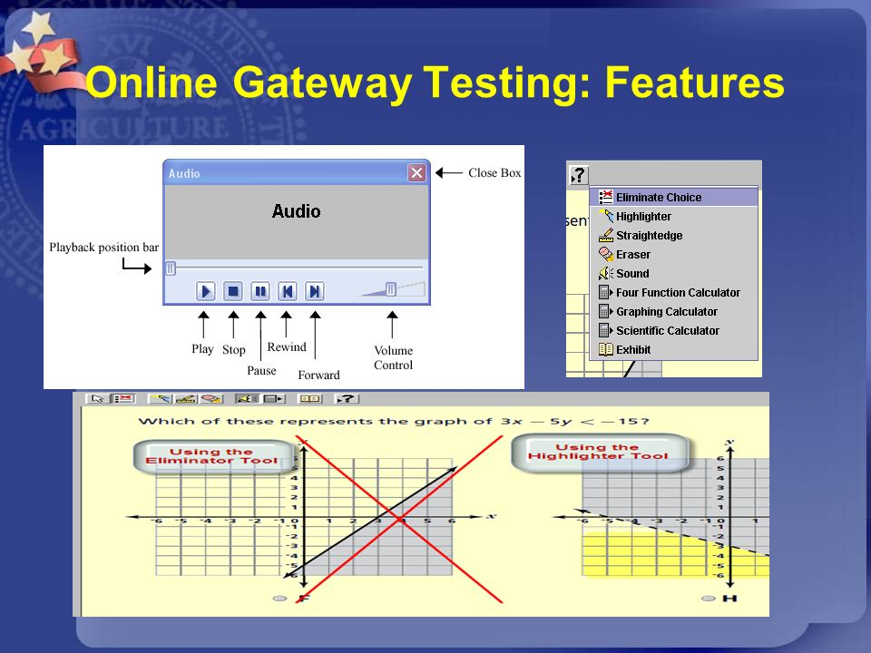 Online Gateway Testing: Features