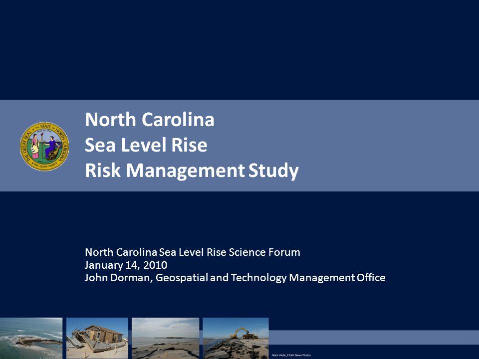 North Carolina Sea Level Rise Risk Management Study