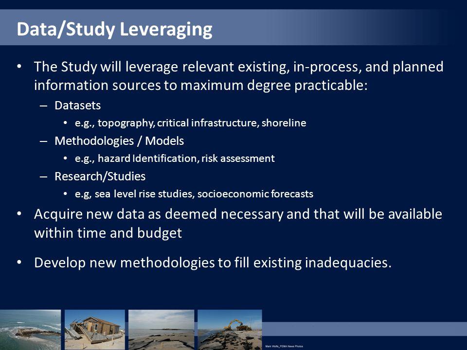 Data/Study Leveraging