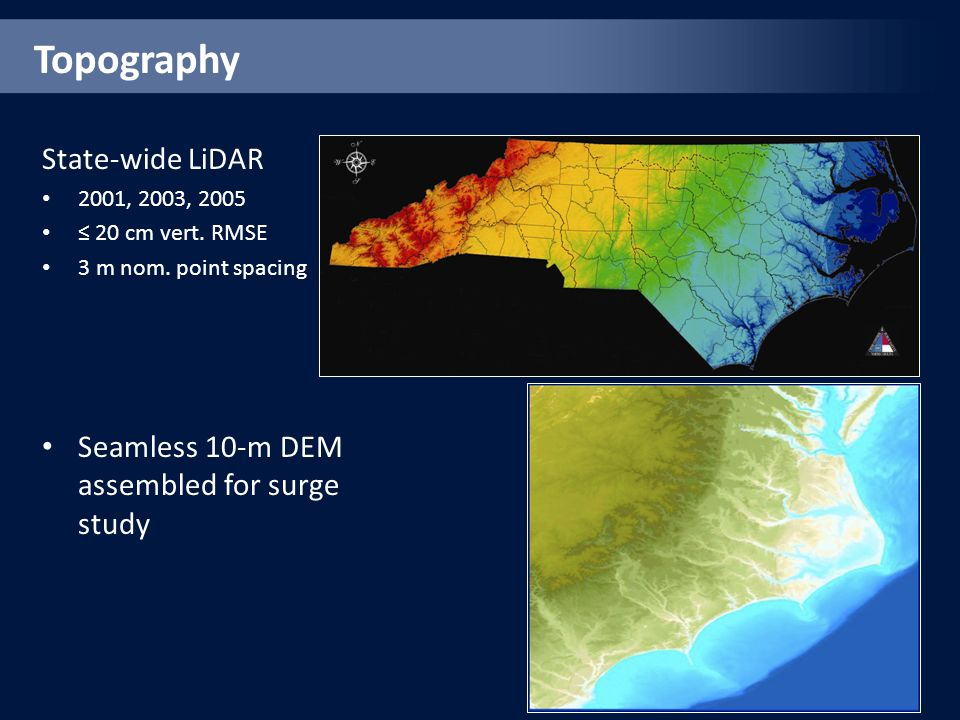 Topography State-wide LiDAR