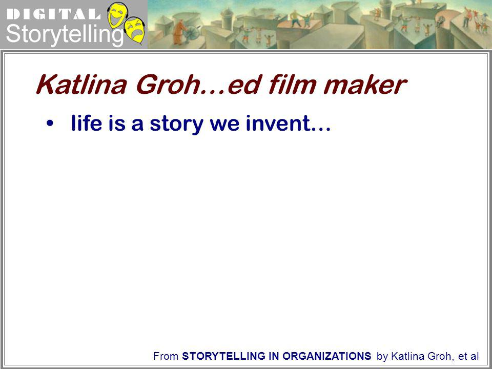 Katlina Groh…ed film maker
