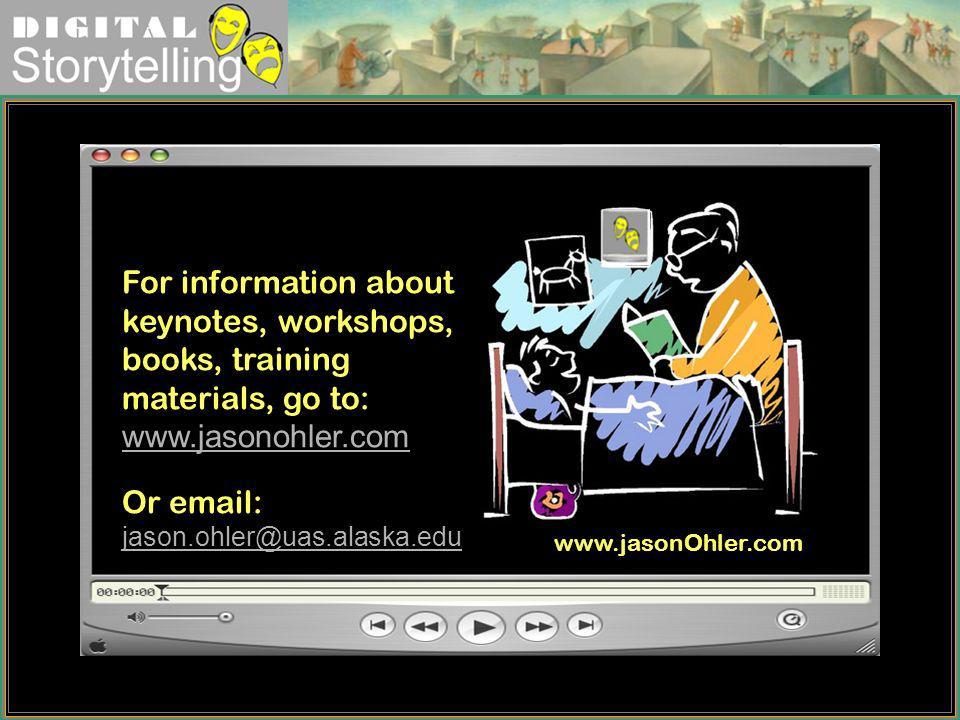 Or email: jason.ohler@uas.alaska.edu