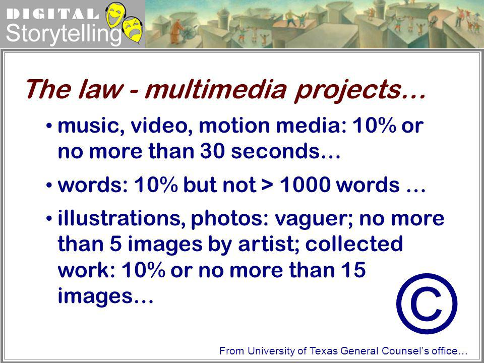 © The law - multimedia projects…