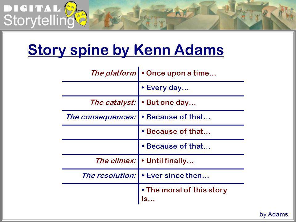 Story spine by Kenn Adams