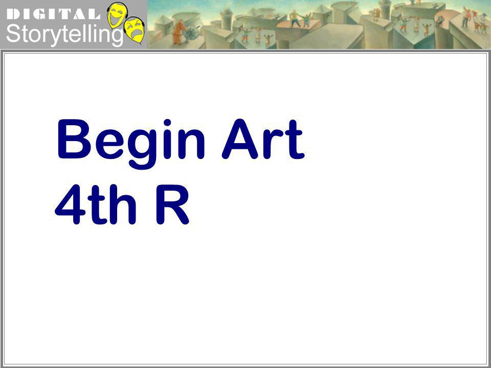 Begin Art 4th R