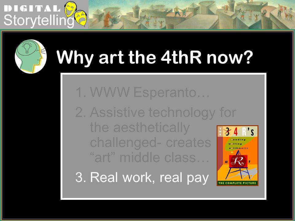 Why art the 4thR now WWW Esperanto…