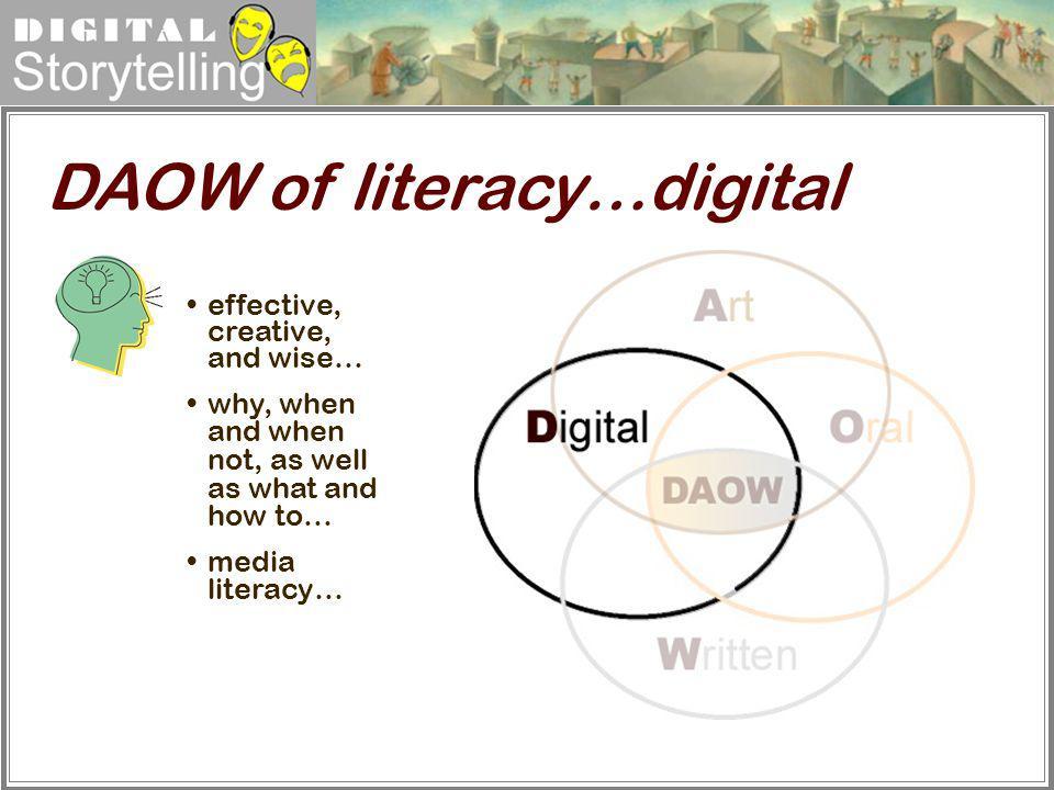 DAOW of literacy…digital
