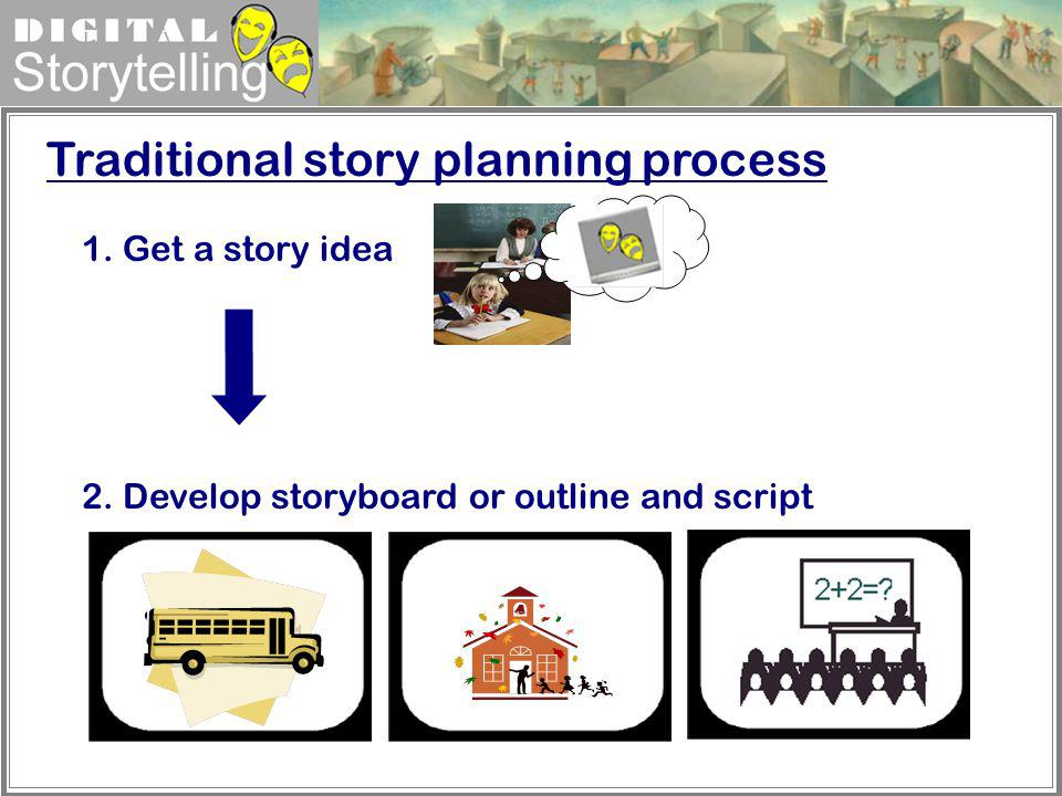 Traditional story planning process