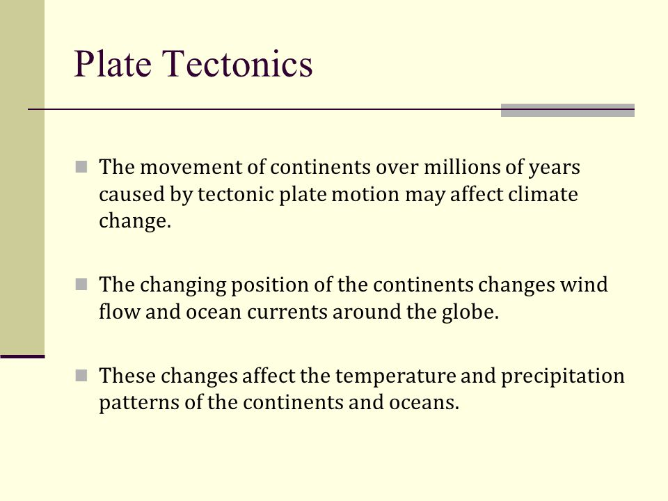 What Natural Factors Can Cause Climate Change