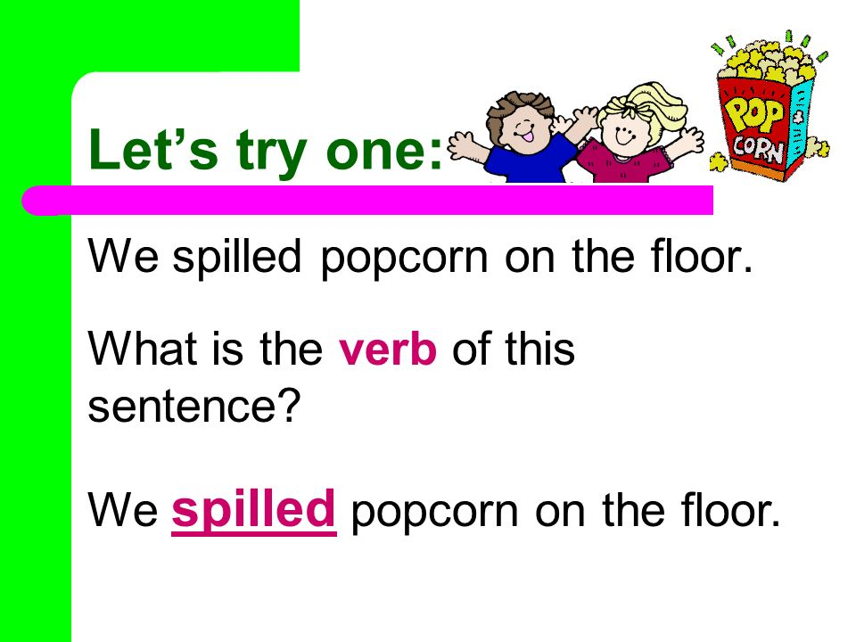Subjects predicates project la activity ppt video for Sentence of floor