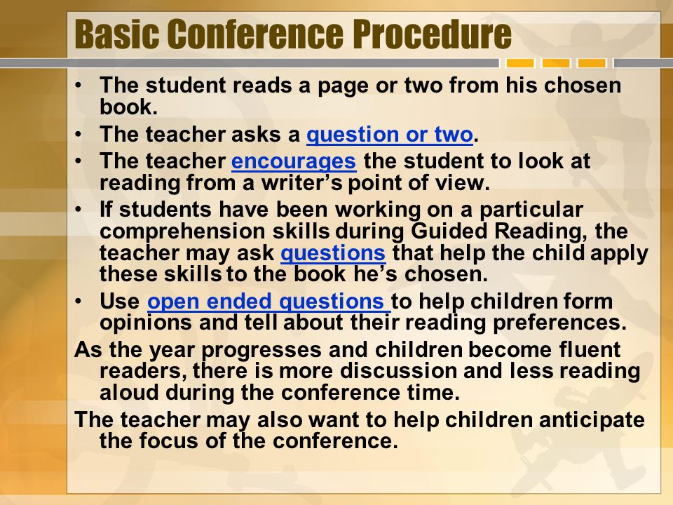 Basic Conference Procedure