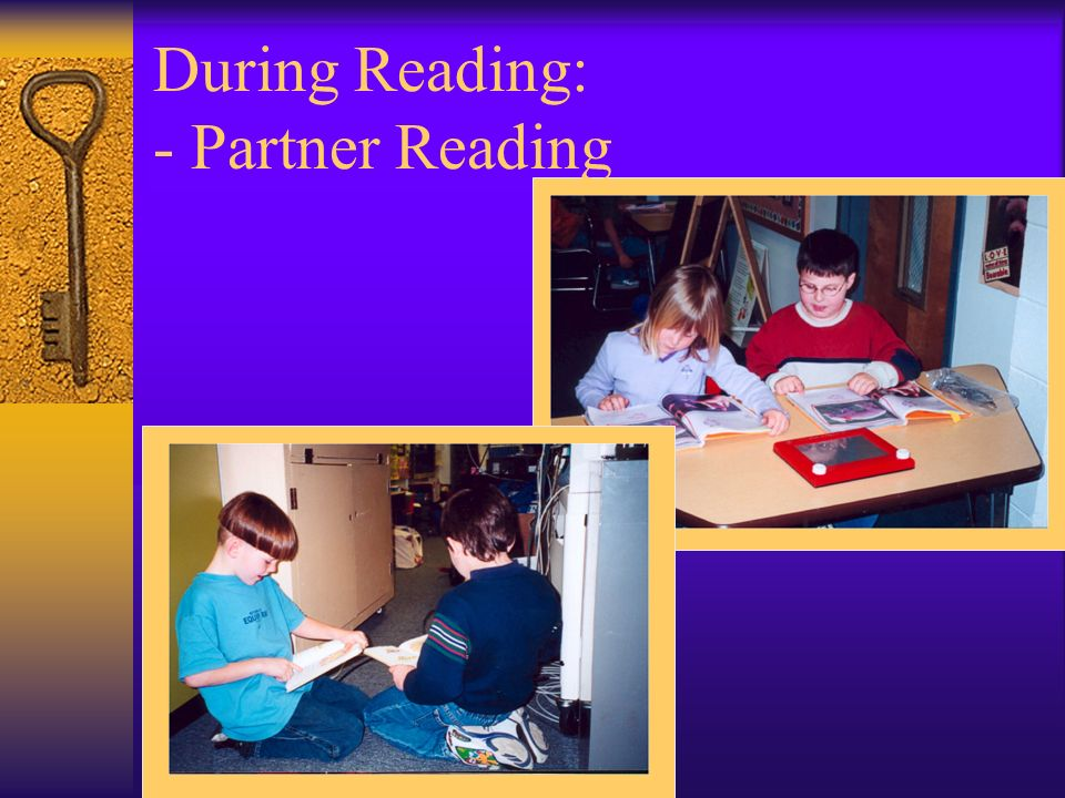 During Reading: - Partner Reading