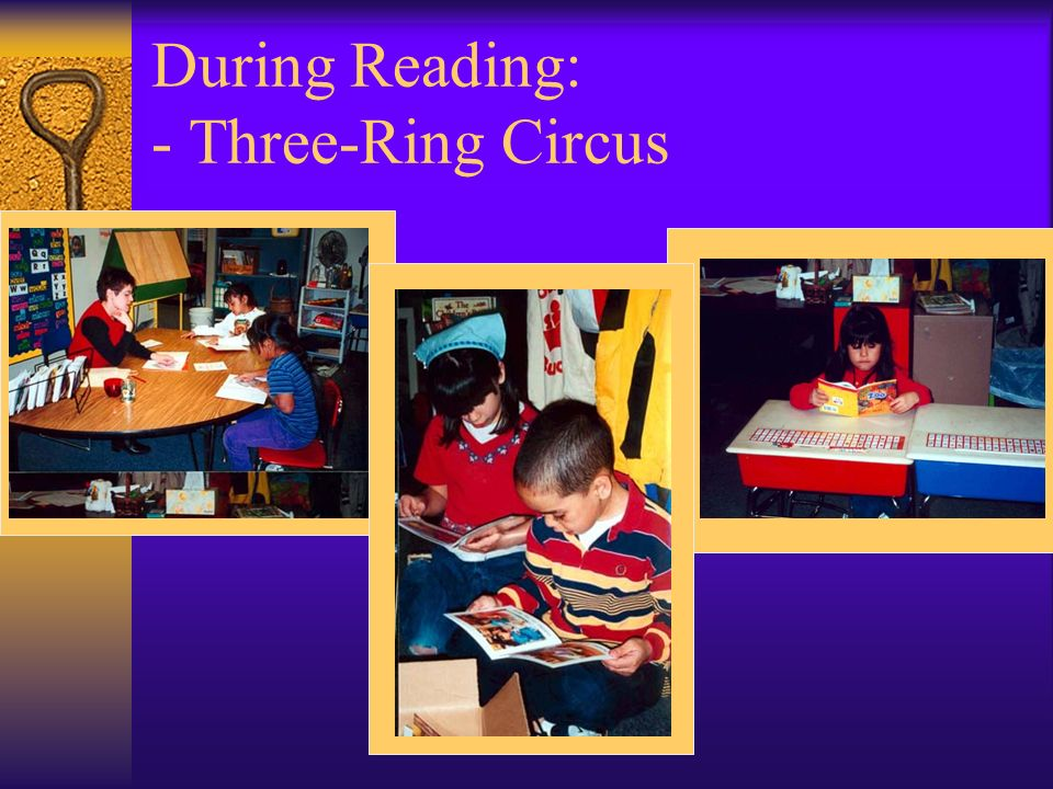 During Reading: - Three-Ring Circus