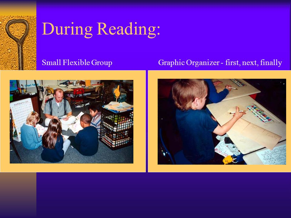 During Reading: Small Flexible Group