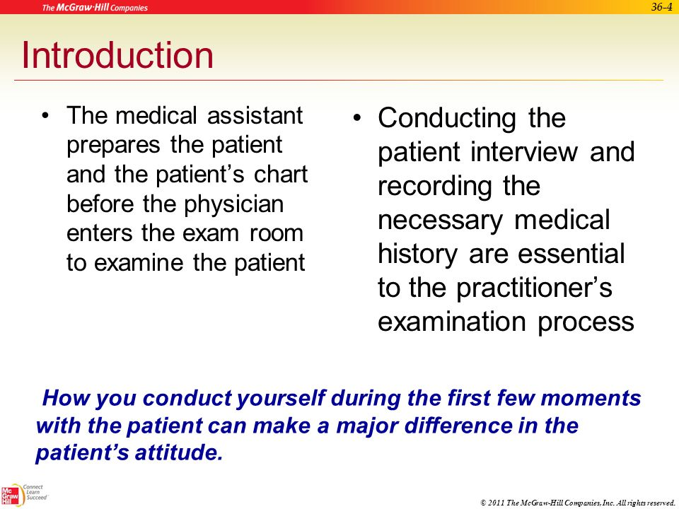 medical assistant history