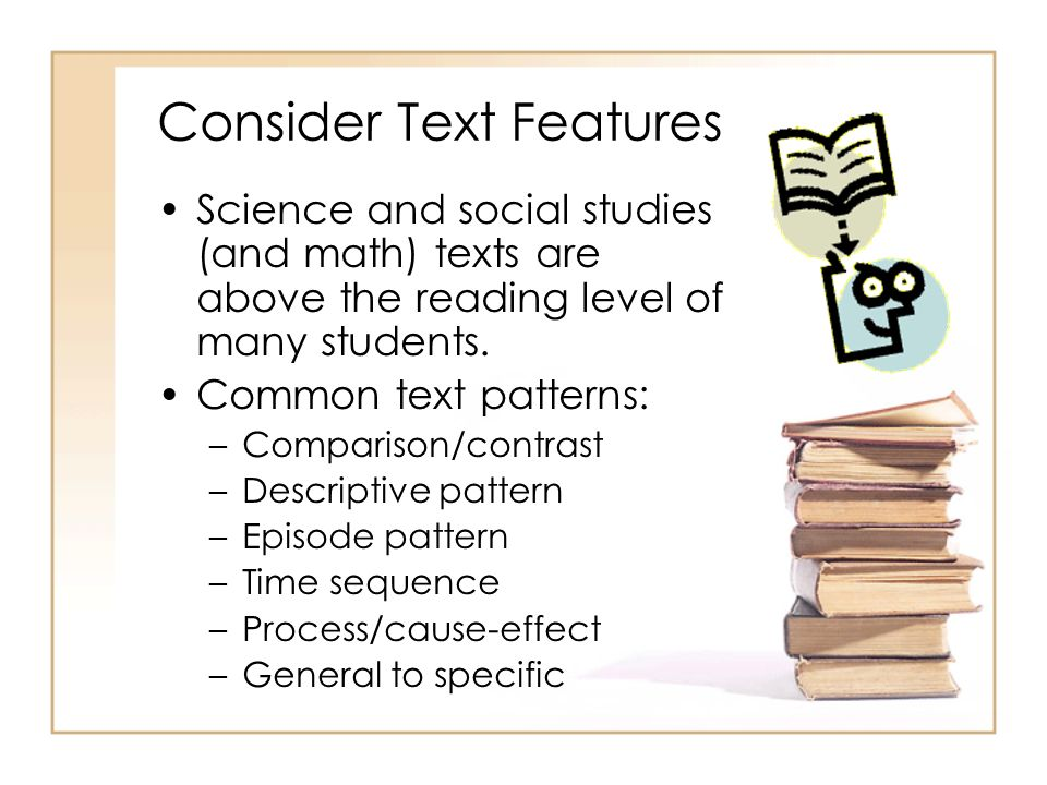Consider Text Features