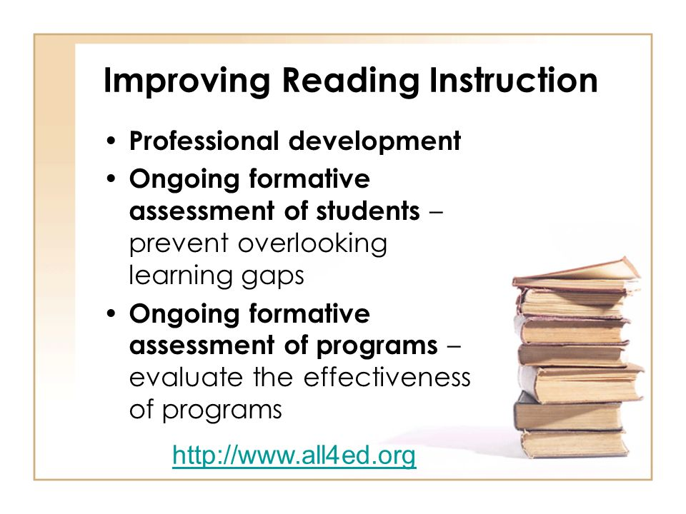 Improving Reading Instruction