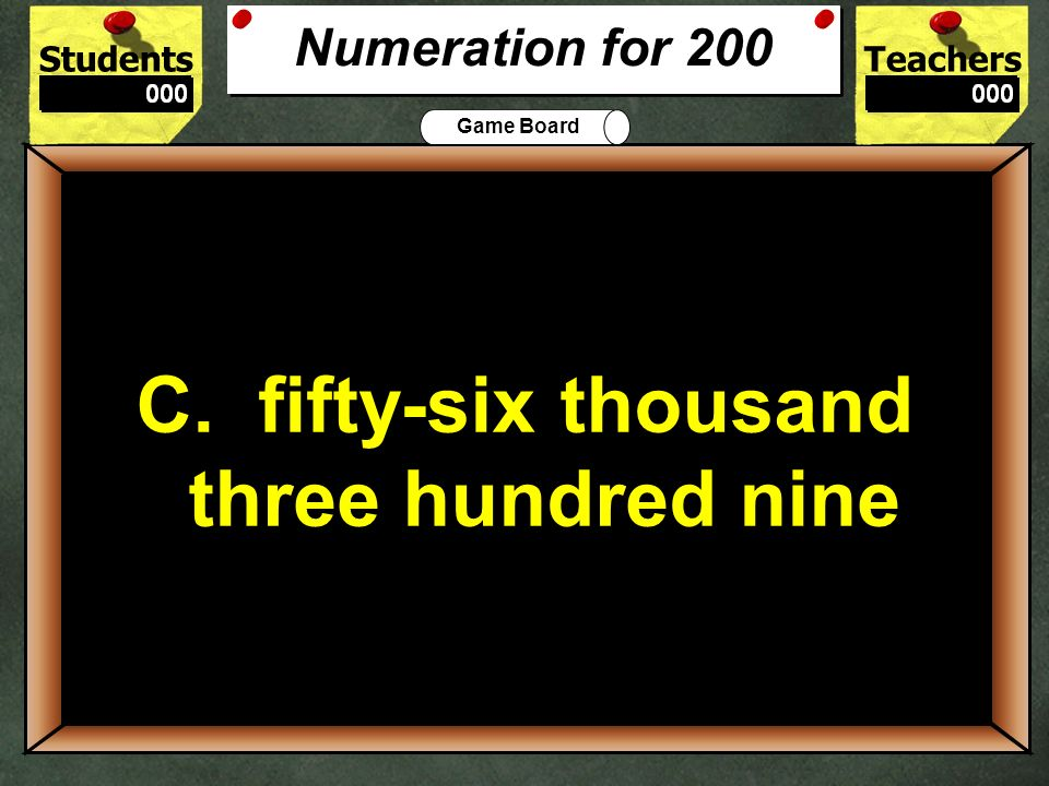 C. fifty-six thousand three hundred nine